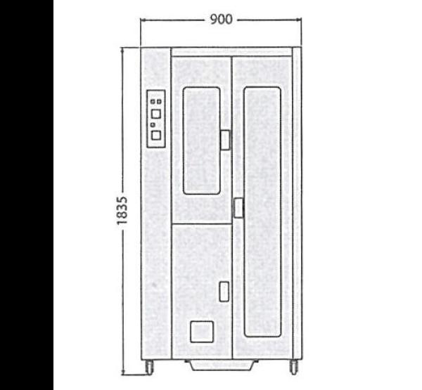 PROSPER ASK 900V 寸法図